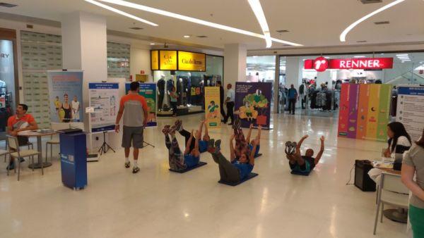 Comemoração: Atividade marco o dia mundial da Saúde (Foto: Divulgação)