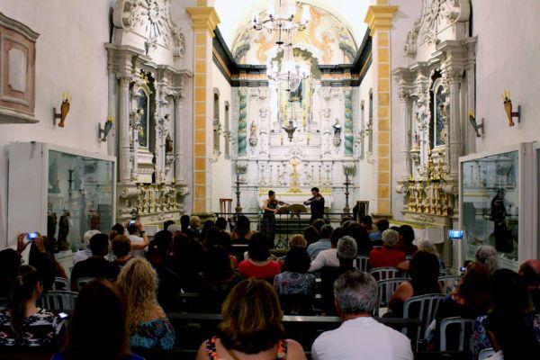 Atrativo: Evento contará com sessões na Igreja Santa Rita, Igreja do Rosário, Casa da Cultura e no Forte Defensor Perpétuo (Foto: Divulgação)