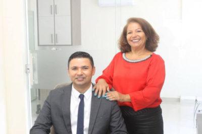 Os advogados  Ana Lopes e  André Oliveira, terão hoje dupla comemoração