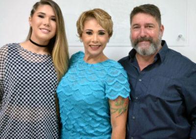 Cléo Myrha, Hilmara Machado e Dr Ricardo Myrha