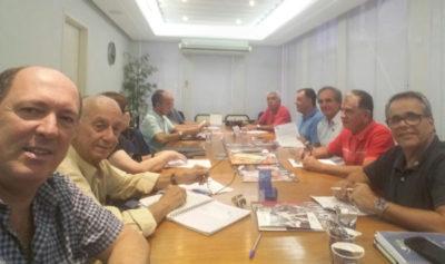 Integrantes do Conselho Social da Cidade de Volta Redonda, entre eles Gil Ferreira, José Bonifácio, , Vera Lúcia, Domingos Resino,  Rafael Capobiango em recente reunião