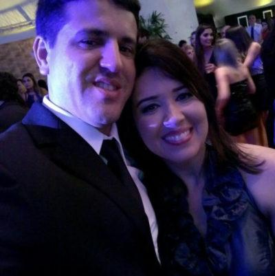Os empresários Alessandra e Mariano (Foto: Divulgação)