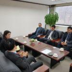 Reunião: Executivos da INB conversam com sul-coreanos para ampliar negócios (Foto: INB)