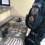 Polícia apreende menores com farta quantidade de drogas, arma e até granada (crédito (PC)