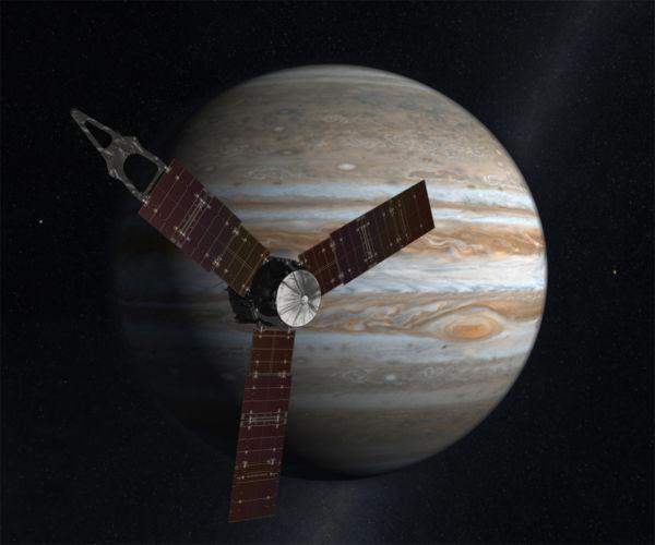 Juno: Sonda da Nasa foi blindada contra a radiação