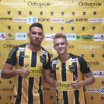 Lucas Cunha e Dudu já se apresentaram e vestiram a camisa do Voltaço