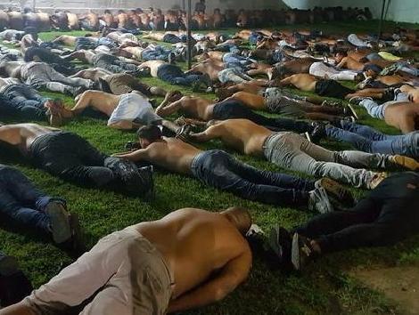 Quadrilha suspeita de integrar milícia tinha ramificações na região (Foto: Polícia Civil)