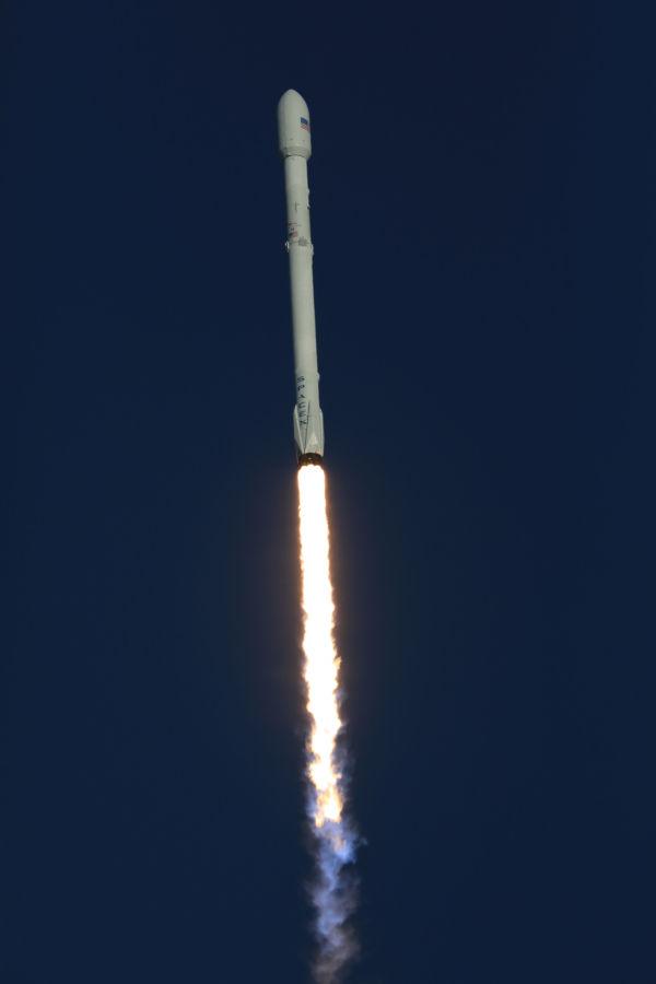 Perfeito: O Falcon levou o TESS para o espaço
