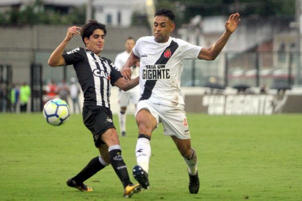 Vitória: Em São Januário, o Vasco teve trabalho, mas conseguiu vencer o Atlético-MG (Foto: CRVG)