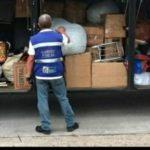 PRF e fiscais da receita apreendem mercadorias contrabandeadas (crédito AB)