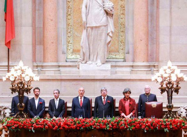 Parlamento português comemora 44 anos da Revolução. (crédito AB)