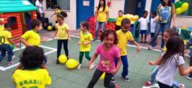Jardim de Infância em Barra Mansa promove atividades em ritmo da Copa do Mundo