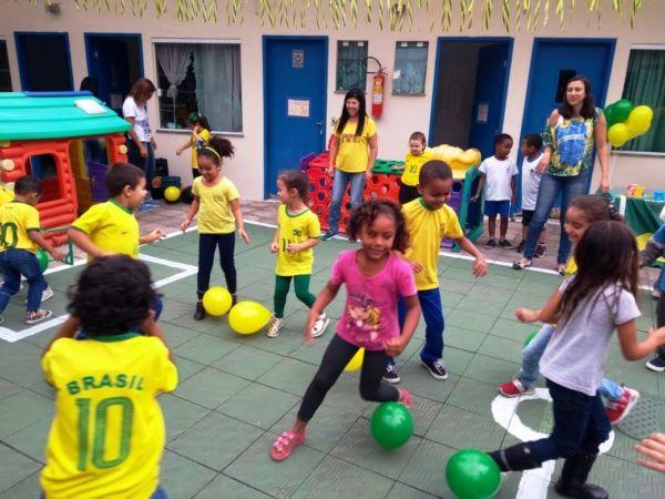 Projeto envolve todos os professores e alunos de 3 a 5 anos