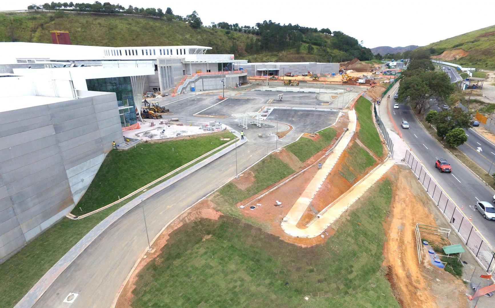 84abc37fb Necessário  Estacionamento tem capacidade para até mil veículos