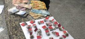 Menor é apreendido com droga e R$ 1.3 mil