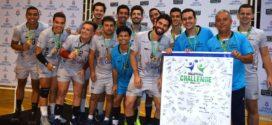 Novo clube de vôlei de Volta Redonda vence torneio internacional
