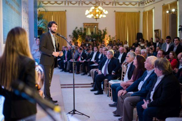 Premiação aconteceu no Palácio Guanabara, sede do Governo do Estado, no Rio (foto: Gabriel Borges)