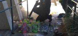 Mulher e menor são flagrados com lança perfume e drogas