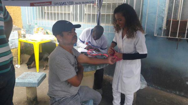 Associação dos Diabéticos de Barra Mansa é uma das entidades que vai às ruas com regularidade orientar a população