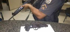 Jovem é preso com arma em Barra do Piraí