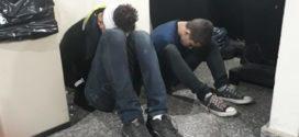 Jovens são presos após tentativa de assalto