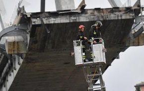 Sobe para 39 o número de mortos em acidente com ponte em Gênova