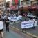 Caminhada em Barra Mansa marca  campanha de alerta no trânsito
