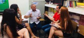MEP recebe visita de estudantes  do curso de jornalismo do UniFOA