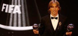 Modric quebra hegemonia de Messi e CR7 e é eleito o melhor do mundo