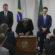 Toffoli sanciona leis de proteção  à família e de acesso à educação