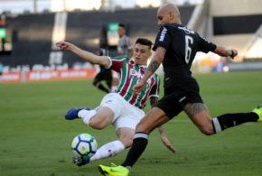 Fluminense derrota o Galo no Engenhão