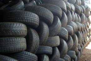 Pelo menos 500 pneus usados são recolhidos por mês em Porto Real