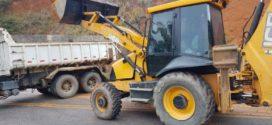Prefeitura reforça manutenção de estradas rurais de Quatis