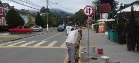 Sinalização viária em Penedo será concluída na próxima semana