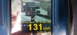 Radar da PRF registra carreta em alta velocidade na Via Dutra