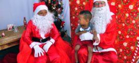 Natal solidário reúne mais de mil pessoas no bairro Vista Alegre