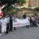 'Terço da Vida' reúne grupo de católicos na Praça Brasil