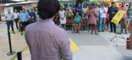 Samuca entrega duas novas praças revitalizadas em Volta Redonda
