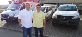 Bruno solicita apoio de Serfiotis para a construção de novo reservatório em Quatis