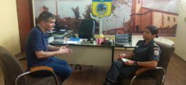 Deputado Federal Antonio Furtado participa de reunião com comandante do 28º batalhão da PM