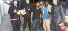 Motoboys se unem para ajudar moradores de rua