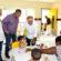 Fernando Jordão acompanha alunos do Cemei no novo espaço