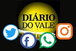 Acompanhe o DIÁRIO DO VALE nas redes sociais