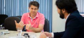 Samuca discute segurança pública com deputado Alexandre Serfiotis