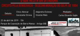 Regime militar no Brasil é tema de debate em Barra Mansa