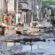 Moradores de bairros afetados pela chuva se unem e contabilizam prejuízo
