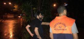 Em 24 horas, chove 105 mm em Volta Redonda