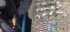 Polícia Militar prende um e apreende drogas no Eucaliptal