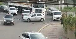 Acidente deixa trânsito lento em Volta Redonda