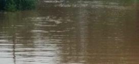 Barra Mansa teve 136mm de chuva nas últimas horas, Rio Bananal e Bocaina transbordam